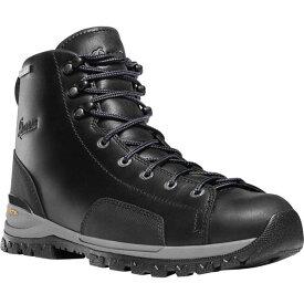 """ダナー メンズ ブーツ&レインブーツ シューズ Men's Danner Stronghold 6"""" Work Boot Black Full Grain Leather"""