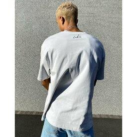 クチュールクラブ メンズ Tシャツ トップス The Couture Club 3D pocket t-shirt in gray GRAY