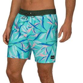 ハーレー メンズ 水着 水着 Hurley Men's Playa Volley 17'' Board Shorts AuroraGreen