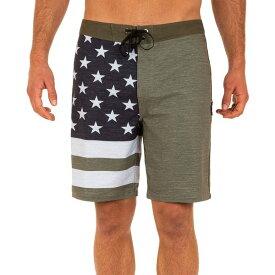 ハーレー メンズ 水着 水着 Hurley Men's Phantom Patriot 2 20'' Board Shorts MediumOlive