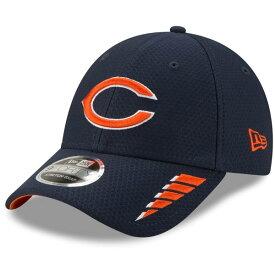 ニューエラ メンズ 帽子 アクセサリー Chicago Bears New Era Rush 9FORTY Snapback Hat Navy