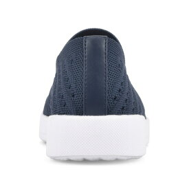 ホワイトマウンテン レディース スニーカー シューズ Courage Slip-On Sneaker NAVY/FABRIC