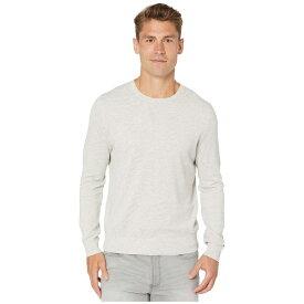 ジェイクルー メンズ ニット&セーター アウター Cotton-Cashmere Piqu Crewneck Sweater Heather Silver