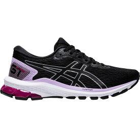 アシックス レディース ランニング スポーツ ASICS Women's GT-1000 9 Running Shoes Black/Purple