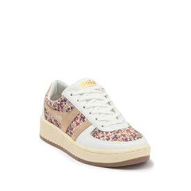 ゴラ レディース スニーカー シューズ Grandslam Liberty Sneaker OFF WHITE/GOLD