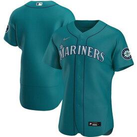 ナイキ メンズ ユニフォーム トップス Seattle Mariners Nike Alternate 2020 Authentic Team Jersey Aqua