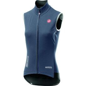 カステリ レディース サイクリング スポーツ Perfetto RoS Vest Dark Steel Blue
