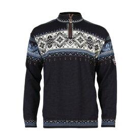 ダールオブノルウェイ メンズ ニット&セーター アウター Blyfjell Sweater Navy/China Blue/Off White/Copper