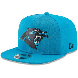 ニューエラ メンズ 帽子 アクセサリー Carolina Panthers New Era 2017 Color Rush 9FIFTY Snapback Adjustable Hat Blue