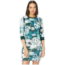 アディダスオリジナルス レディース ワンピース トップス Contemporary 3-Stripes Dress Multicolor