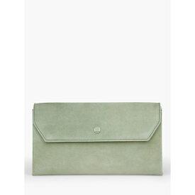 LKベネット レディース クラッチバッグ バッグ L.K.Bennett Dora Suede Clutch Bag, Rosemary -
