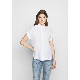 ラルフローレン レディース シャツ トップス TISSUE - Button-down blouse - white pify003d