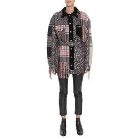 マルタンマルジェラ レディース ジャケット&ブルゾン アウター Maison Margiela Mixed-Print Jacket -