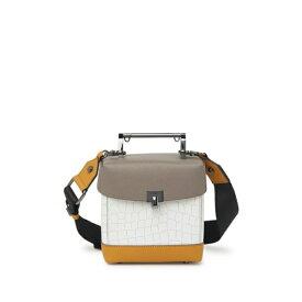 ボトキエ レディース ショルダーバッグ バッグ Lennox Mini Crossbody Bag TRUFFLE COLORBLOCK-C