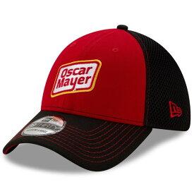 ニューエラ メンズ 帽子 アクセサリー Ryan Newman New Era Oscar Mayer NEO 39THIRTY Flex Hat Black/Red