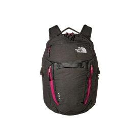 ノースフェイス レディース バックパック・リュックサック バッグ Women's Surge Backpack Asphalt Grey Light Heather/Wild Aster Purple