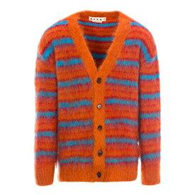 マルニ メンズ ニット&セーター アウター Marni Striped Cardigan -
