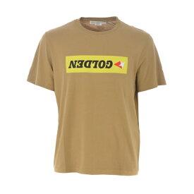 ゴールデングース メンズ カットソー トップス Printed T-shirt Cammello