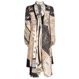 エトロ レディース ワンピース トップス Etro Printed Midi Dress Multicolor
