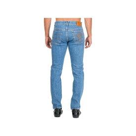 ヴェルサーチ メンズ デニムパンツ ボトムス Versace Jeans Denim Blu