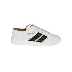 バリー レディース スニーカー シューズ Bally Wisen Printed Detail Sneakers White