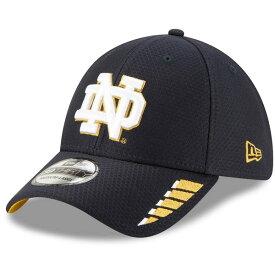 ニューエラ メンズ 帽子 アクセサリー Notre Dame Fighting Irish New Era Rush 39THIRTY Flex Hat Navy