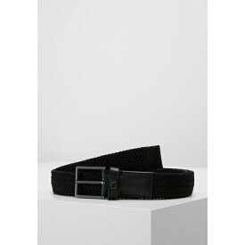 カルバンクライン メンズ ベルト アクセサリー FORMAL ELASTIC BELT - Belt - black qdie006d