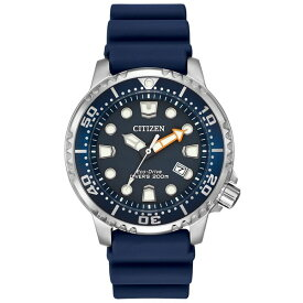 シチズン レディース 腕時計 アクセサリー Men's Eco-Drive Promaster Diver Blue Strap Watch 42mm BN0151-09L No Color