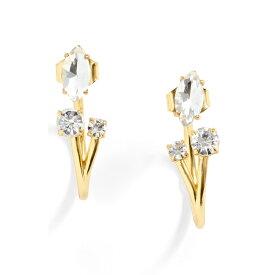 ジェイクルー レディース ピアス&イヤリング アクセサリー J.Crew Crystal Cluster Jacket Earrings Crystal