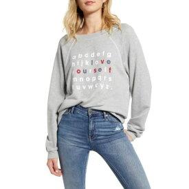 ワイルドフォックス レディース パーカー・スウェットシャツ アウター Love Yourself Sommer Sweater HEATHER