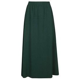 アルベルト ビアーニ レディース スカート ボトムス Alberto Biani Elasticated Waist Long Skirt Green