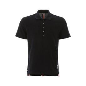 トムブラウン メンズ ポロシャツ トップス Thom Browne RWB Striped Polo Shirt -