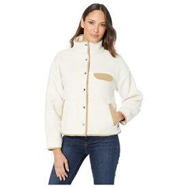 ノースフェイス レディース コート アウター Cragmont Fleece Jacket Vintage White/Kelp Tan