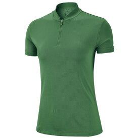 ナイキ レディース ポロシャツ トップス DriFIT Blade Golf Polo Classic Green/White
