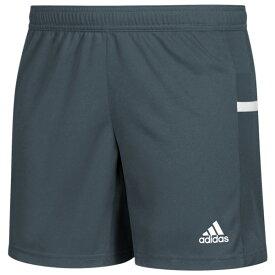 アディダス レディース カジュアルパンツ ボトムス Team 19 Knit Shorts Grey/White