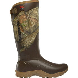 ラクロス メンズ ブーツ&レインブーツ シューズ LaCrosse Men's Alpha Agility 17'' Mossy Oak Break-Up Country 800g Rubber Hunting Boots MossyOakBreakupCountry