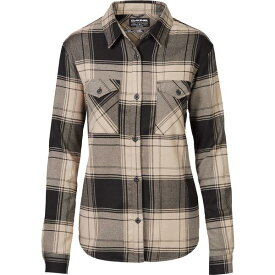 ダカイン レディース シャツ トップス DAKINE Women's Noella Tech Flannel Button Down Shirt Barley