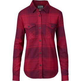 ダカイン レディース シャツ トップス DAKINE Women's Noella Tech Flannel Button Down Shirt DeepGarnet