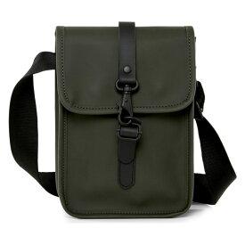 レインズ メンズ ビジネス系 バッグ Rains Waterproof Flight Bag Green