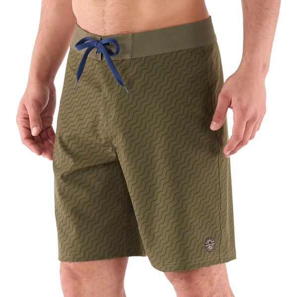 ユナイテッドバイブルー メンズ ハーフ&ショーツ ボトムス Stillwater Performance Board Shorts - Men's Olive