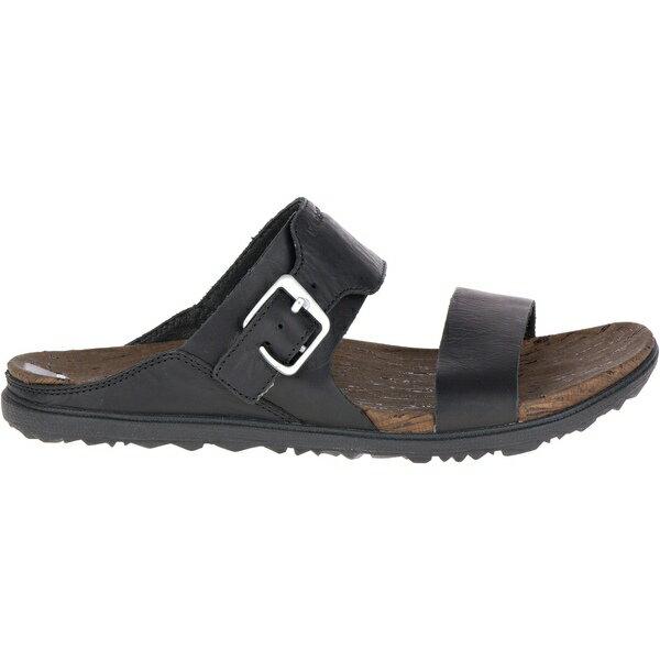 メレル レディース サンダル シューズ Around Town Buckle Slide Sandals - Women's Black
