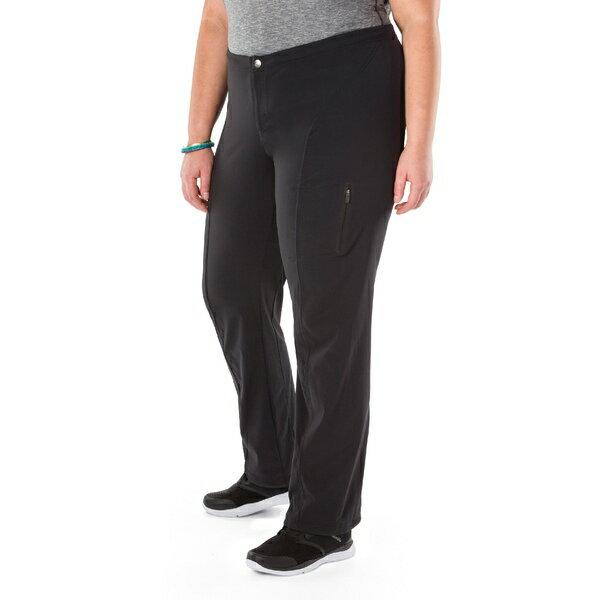コロンビア レディース カジュアルパンツ ボトムス Just Right Straight Leg Pants - Women's Plus Sizes Black