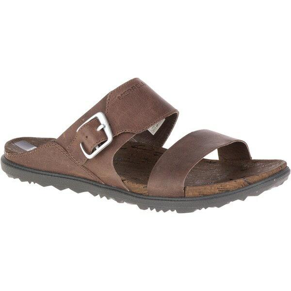 メレル レディース サンダル シューズ Around Town Buckle Slide Sandals - Women's Brown