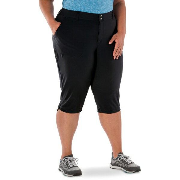 コロンビア レディース カジュアルパンツ ボトムス Saturday Trail II Knee Pants - Women's Plus Sizes Black