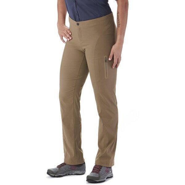 コロンビア レディース カジュアルパンツ ボトムス Just Right Straight Leg Pants - Women's Truffle