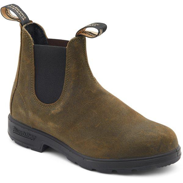 ブランドストーン レディース ブーツ&レインブーツ シューズ Original 500 Boots - Women's Dark Olive Suede