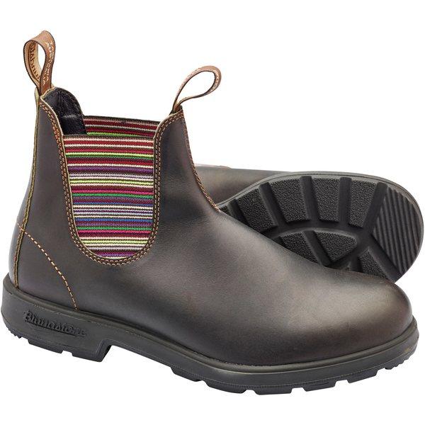 ブランドストーン レディース ブーツ&レインブーツ シューズ Original 1409 Boots - Women's Stout Brown/Stripes