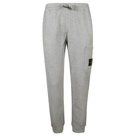 ストーンアイランド メンズ カジュアルパンツ ボトムス Stone Island Logo Pocket Patch Track Pants Grigiochiaro