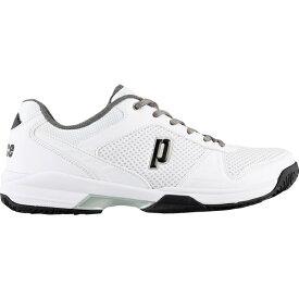プリンス メンズ テニス スポーツ Prince Men's Advantage Lite Tennis Shoes White