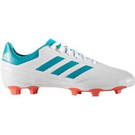 アディダス レディース サッカー スポーツ adidas Women's Goletto VI FG Soccer Cleats White/Blue